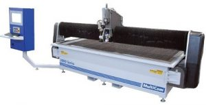 water jet for gasket manufacturing