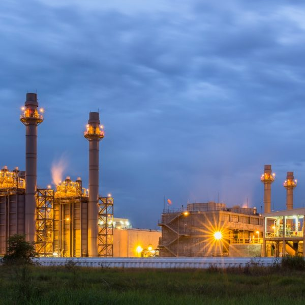 Photo of electric power plant